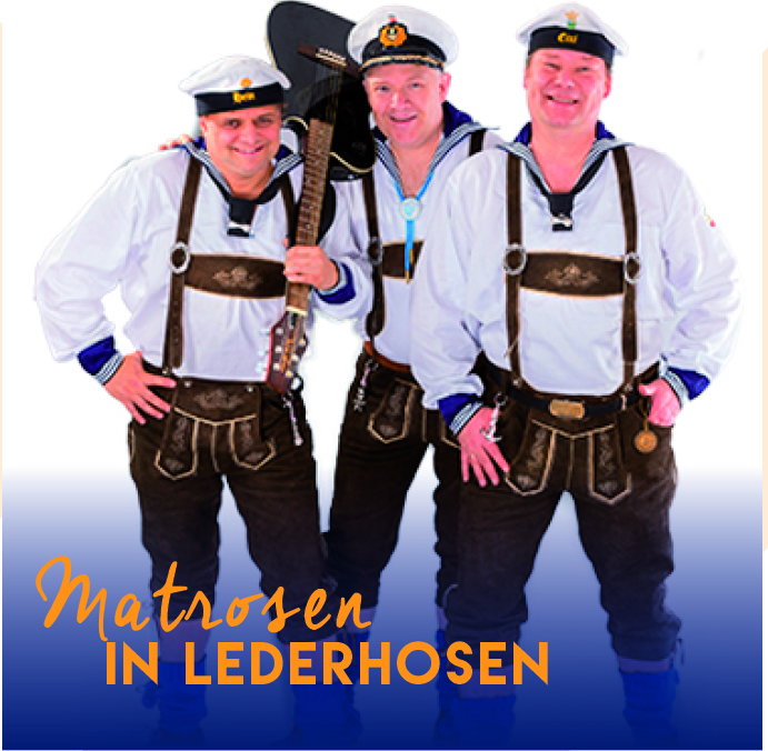 Matrosen in Lederhosen